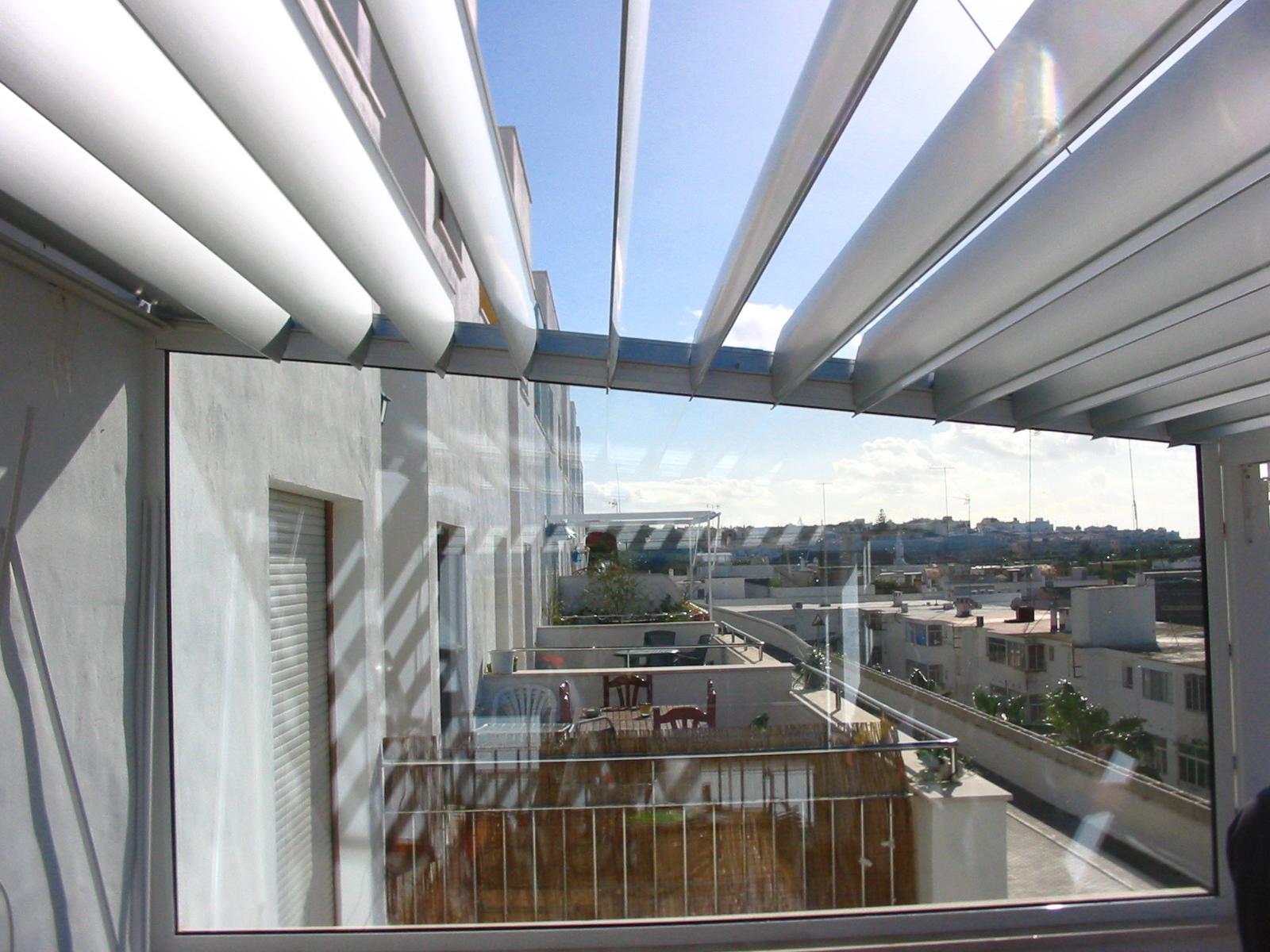 #355B96 Casa das Janelas 240 Janelas De Vidro Para Terraço