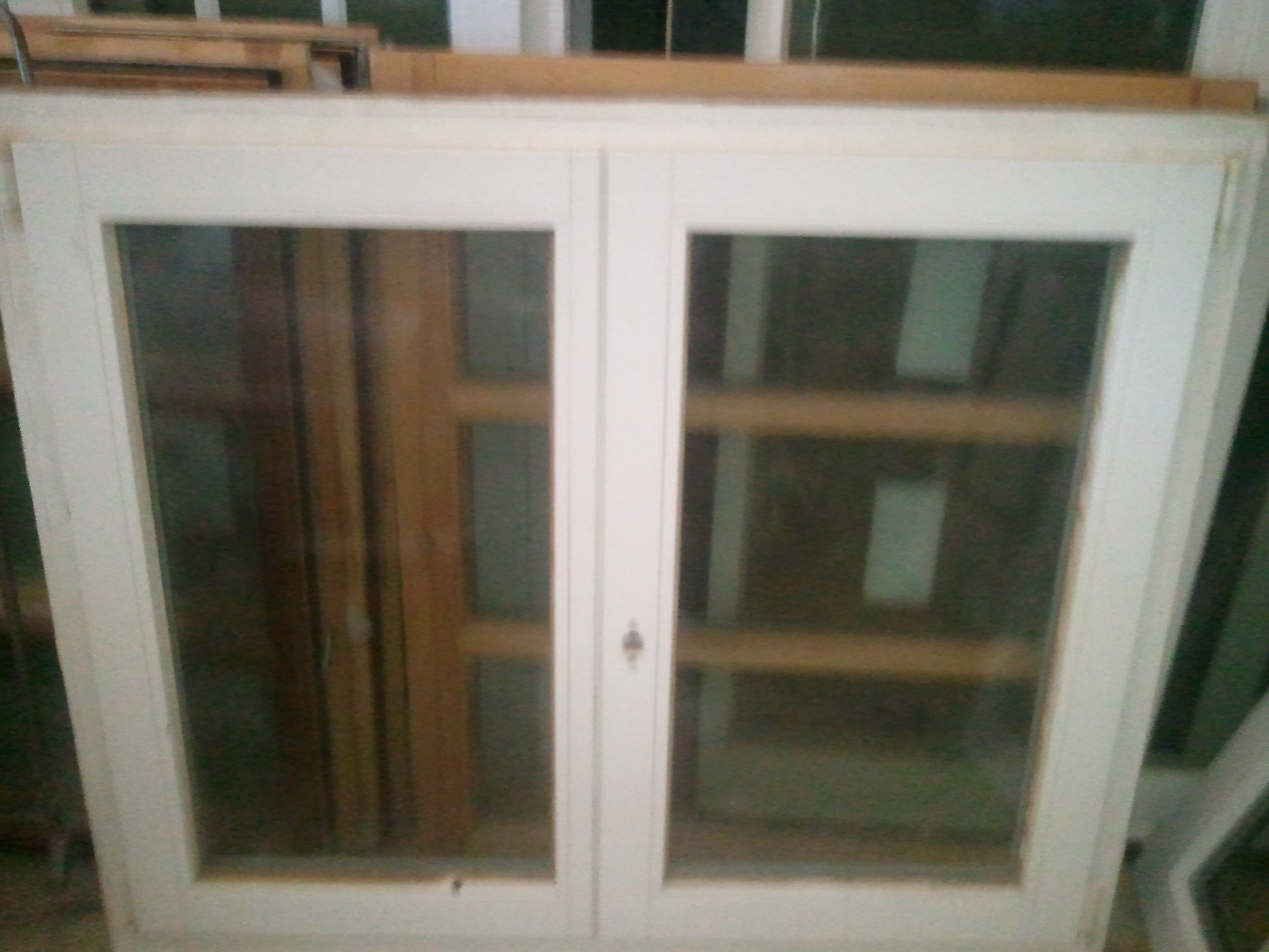#604B33 250€  Wooden window double glazed 4286 Janela Aluminio Branco 100 X 150