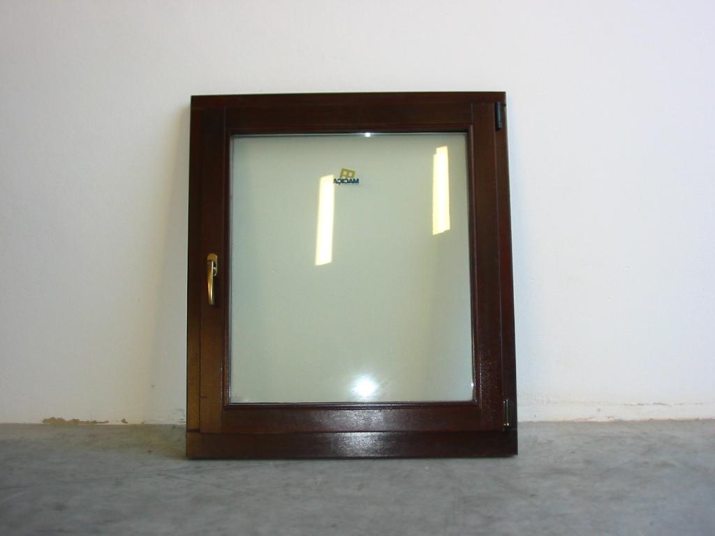 #2F2018 Wood window in afizélia 726 Janelas Vidro Duplo Pvc